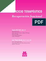 Ejerc Terapéutico (Cintura Escapular)