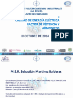 C39 Calidad de Energia Electrica Factor de Potencia y Armonicos