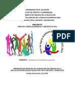 Feria de Logros Ues 2016 Para Junta Directiva