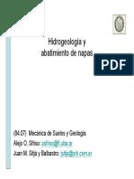 109 Hidrogeologia y Abatimiento de Napas