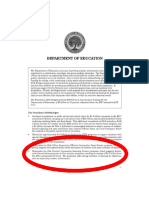 Department of Education PDF