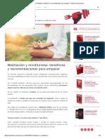 Meditación y mindfulness_ beneficios y recomendaciones para empezar