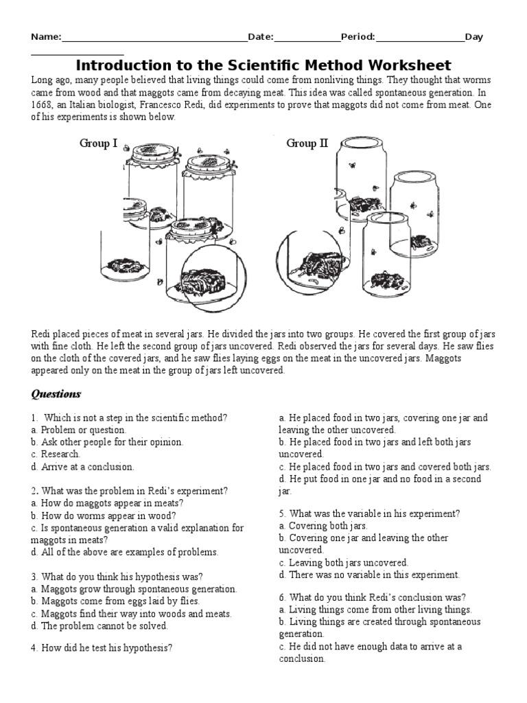 Scientific Method Packet – Spongebob Scientific Method Worksheet Answers