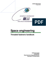 ESA Threaded Fasteners Handbook ECSS E HB 32 23A