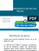 A Bacia Hidrográfica Do Rio Das Velhas