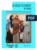 Refugee Resettlement in Fargo - HRC Report to City Commission 4-13-2017