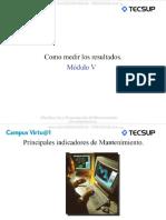 Curso Medicion Resultados Indicadores Mantenimiento Planificacion Programacion Tiempo Falla Gestion Costos