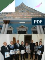 99 ° ANIVERSÁRIO DA ARLS ESTRELA UBERABENSE N°0941 – GOBMG - 01 DE ABRIL DE 2017 da E .`. V .`.