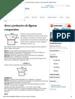 Área y perímetro de figuras compuestas - Spanish GED 365 - GED® en Español