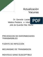 Actualización Vacunas 2015 LAUBE