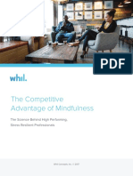 The Competitive Advantage of Mindfulness