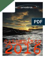 Calendário 2016 PCA