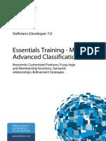 DEV 708 Essentials TrainingModule2 AdvancedClassification