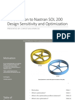 Introduction to Nastran Sol 200 Size Optimization