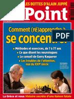 Le Point No.2230 - 4 Au 10 Juin 2015 - Comment Apprendre a Se Concentrer