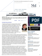 ConJur - Diário de Classe_ Novas Tendências Na Jurisprudência Do STF e a Juristocracia