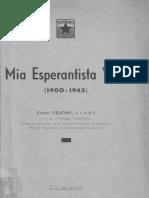 Mia Esperantista Vivo - Ernest Deligny Biografio