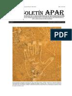 Boletín APAR (Edición Especial) 2RAEC-Cusco - 2da circular