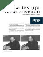 entrevista a Harold Pinter