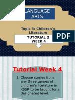 Tuto Week 4 Adapting story