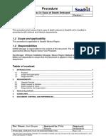 PRO-01-2298 Medic's Process in Case of Death Onboard