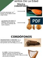 Instrumentos de La Edad Media