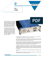 VHF-UHF Transceiver Solutions by Telerad