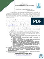 EDITAL (PROPP-RTR) n 128, de 12-12-2016.