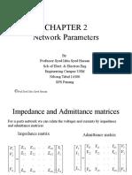 Network Parameters