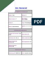 Cloro - Descripción General