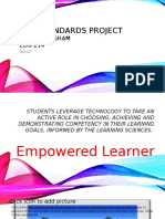 iste standards project