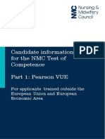 Candidate Information Guide Toc Part 1 Pearson Vue