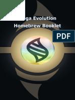 Homebrew Mega Evolution Booklet1.1