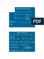 Cinética y Mecanismos 2017 1 y 2
