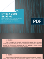 Instructivo Nº 017-2001-Ef Diapos