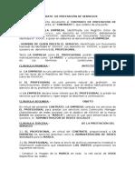 Modelo de Contrato Para Redes Sociales.