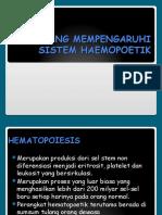 Obat Yang Mempengaruhi Sistem Haemopoetik