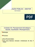 Pos Gestor Adm Pub 2009 Aula 4 Obcursos - Planejamento, Gestao e Qualidade 20090522160431