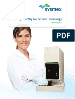 XN-1000 R Change the Way You Perform Hematology