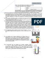 Práctica calificada de Mecánica de fluidos N° 2