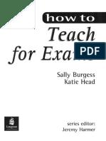 Burgess & Head - How to Teach for  Exams.pdf