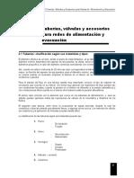Tuberías, Válvulas y Accesorios Sanitarios