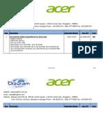 Acer Accessories Bizgram Asia Pte Ltd Singapore SMS 87776955 Email sales@bizgram.com