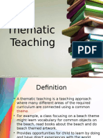 Thematic Teaching