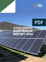 Clean Energy Australia Report 2014