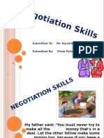 71770452 Negotiation Skills