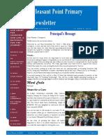 2017 term 1 week 11 newsletter