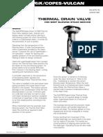 Thermal Drain Valves