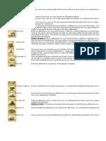Kingdom Builder Overview of Location Tiles (Base Nomads Crossroads and Marshlands)