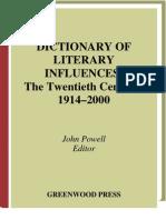 Dictionary of Literary Influences